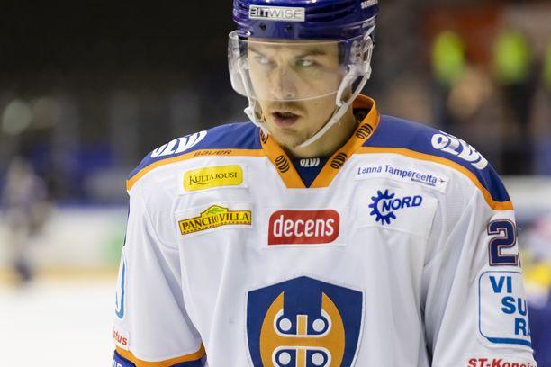 Tapparasssa tällä kaudella pelaava Aleksi Elorinne on Iltalehden tietojen mukaan ensi talvena Ilveksen mies.