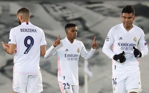 19-vuotias brassipeluri tykitti voiton Real Madridille Mestarien liigassa – Liverpool ryöpytti kunnolla Atalantaa Italiassa