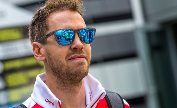 Sebastian Vettel lähtee huomiseen kisaan seitsemännestä ruudusta.