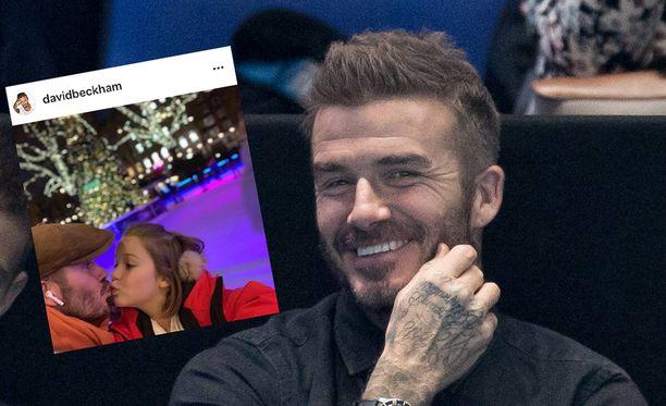 David Beckham on saanut hauskan tuki-ilmiön aikaan.