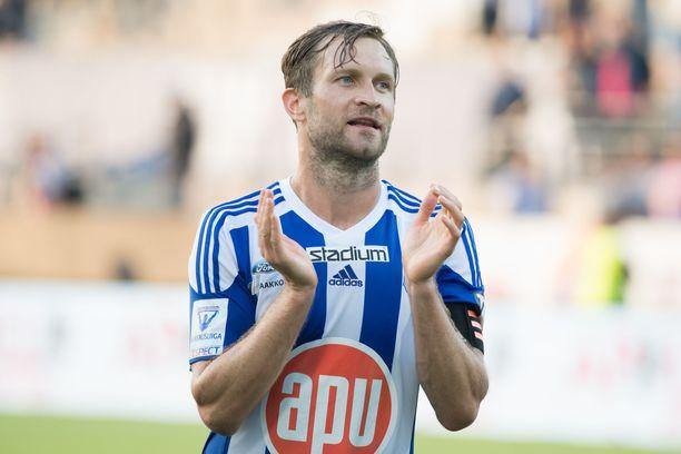 Hannu Patronen siirtyy HJK:sta HIFK:hon.
