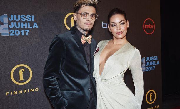 Mikael Gabriel ja Triana Iglesias ovat pitäneet yhtä kolme vuotta.