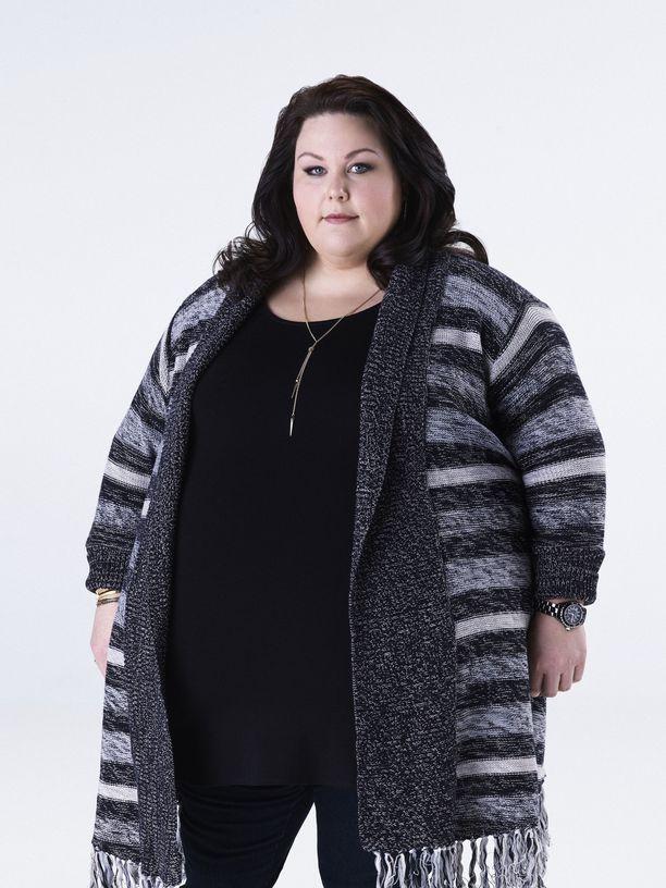 Chrissy Metz näyttelee sarjassa ylipainonsa kanssa kamppailevaa Katea.
