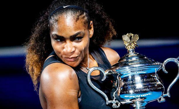 Serena Williams voitti Australian avoimet tammikuussa - saatuaan juuri tietää olevansa raskaana.