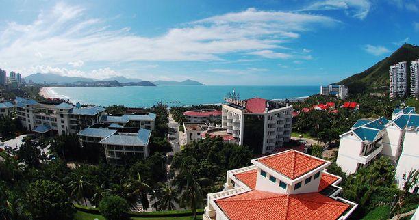 Sanyassa, Kiinassa on parhaat hotellit.
