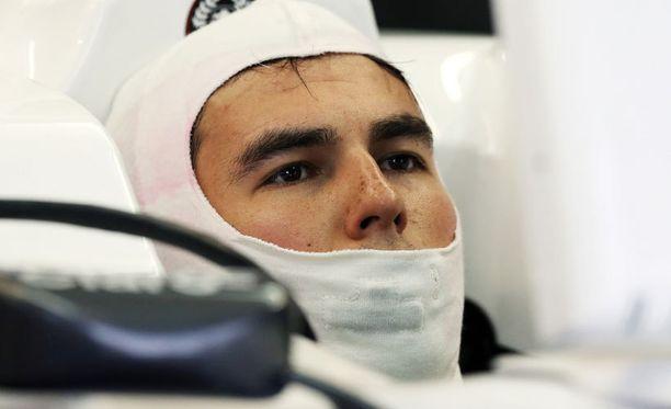 Sergio Perez kaipaa Luca di Montezemolon mukaan lisää kokemusta.