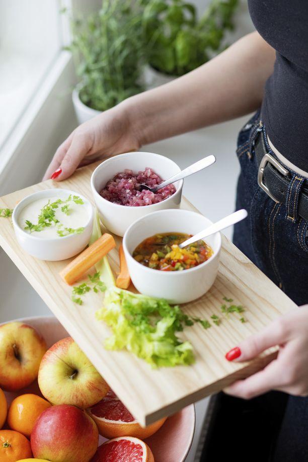 Joko olet haastanut itsesi ja ystäväsi mukaan Syö hyvä olo 2021 -haasteeseen?