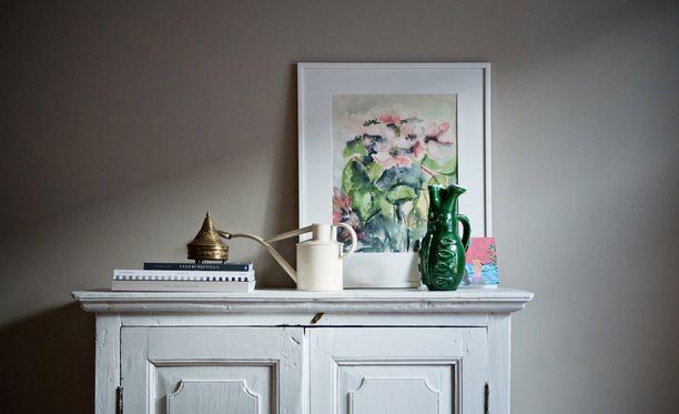 Pehmeät pastellisävyt tekevät kodista värikkään mutta vaalean.