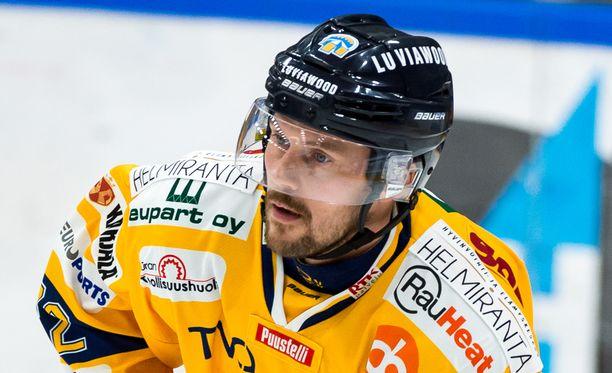 Toni Koivisto onnistui Kärppiä vastaan.