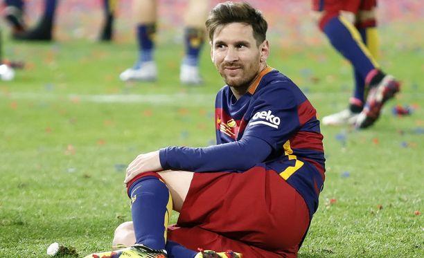 Lionel Messi lahjoitti rahaa hyväntekeväisyyteen.