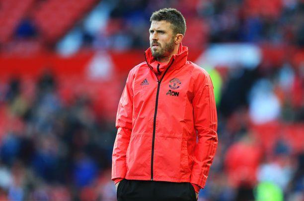 Michael Carrick toimii väliaikaisesti Manchester Unitedin managerina.