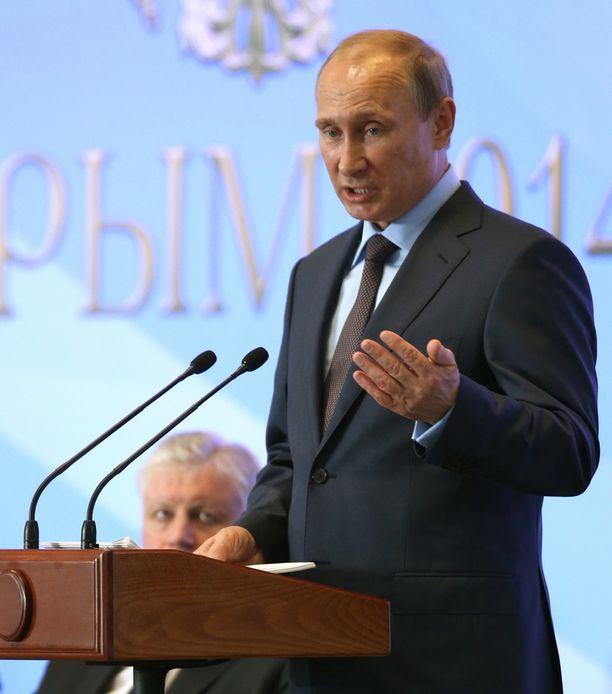 Putin piipahti Krimillä elokuussa.