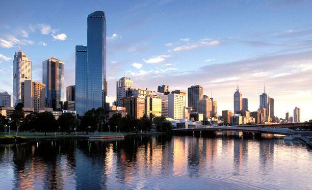 Suomalainen opiskelee työn ohella Melbournessa.