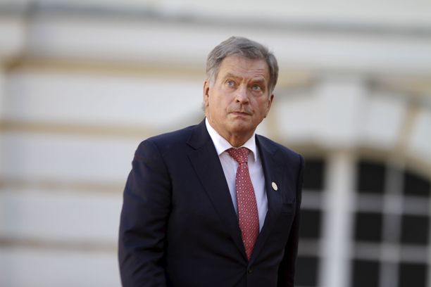 Presidentti Niinistö puhuu tiistaina YK:n yleiskokouksen avajaiskokouksessa. Arkistokuva.