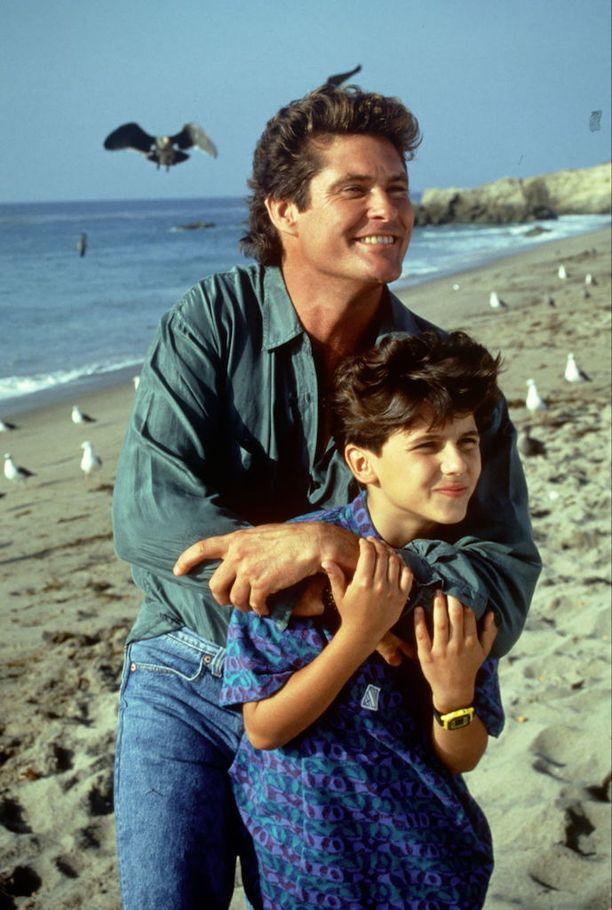 David Hasselhoff näytteli sarjassa Jeremyn roolihahmon isää.