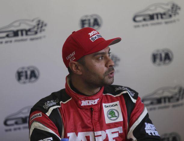 Gaurav Gill on nähty vuosien saatossa mukana myös rallin MM-sarjassa.