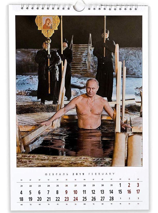 Vladimir Putin esiintyy mielellään ilman paitaa.