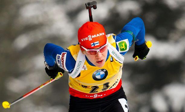 Kaisa Mäkäräinen voitti perjantaina Hochfilzenin maailmancupissa pikakilpailun ja sunnuntaina takaa-ajon.