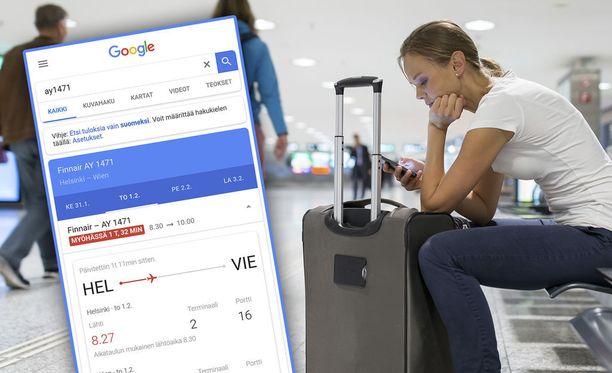 Google Flights helpottaa lentojen löytämistä.
