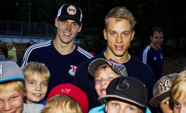 Jori Lehterä ja Jonas Enlund tekivät yhteensä 115 maalia Sibirille.
