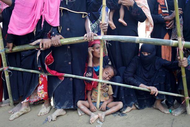 Useimmat Myanmarista lähteneet ovat pyrkineet Bangladeshiin.