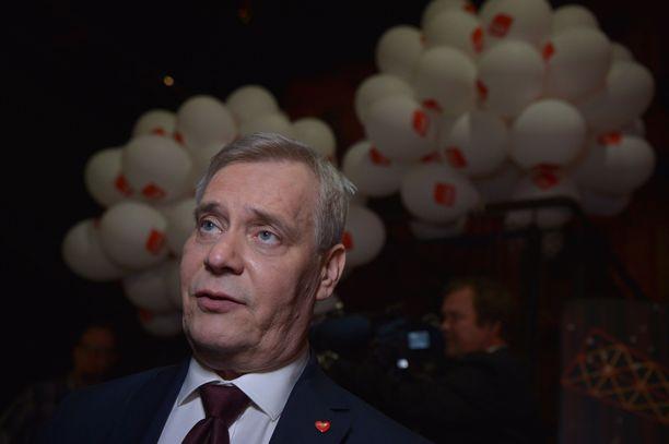 Antti Rinne aloittaa hallitustunnustelut.