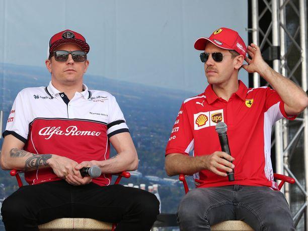 Kimi Räikkönen ja Sebastian Vettel ajavat tällä kaudella eri talleissa, mutta molempien menoa vauhdittaa Ferrarin 064-voimayksikkö. Vettelin voimayksikköön vaihdettiin Kiinan GP:n alla uusia osia, Räikkönen saa jatkaa toistaiseksi vanhoilla osilla.