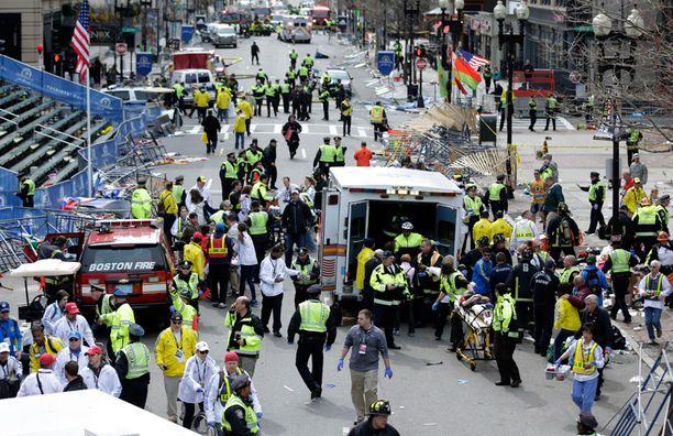 Bostonin maratonilla huhtikuussa tapahtuneessa pommi-iskussa kuoli kolme ihmistä ja loukkaantui yli 260.