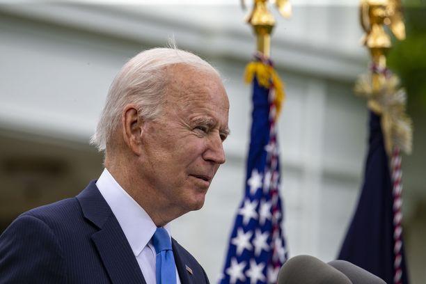 USA:n presidentti Joe Biden ei ole juuri kommentoinut julkisesti Israelin ja palestiinalaisten välisiä taisteluita.