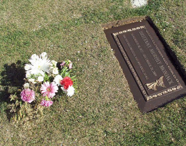 Brittany Murpyn hautapaikka on hyvin vaatimaton.