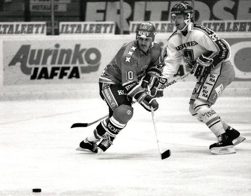 Darren Boyko muistetaan HIFK-vuosistaan.