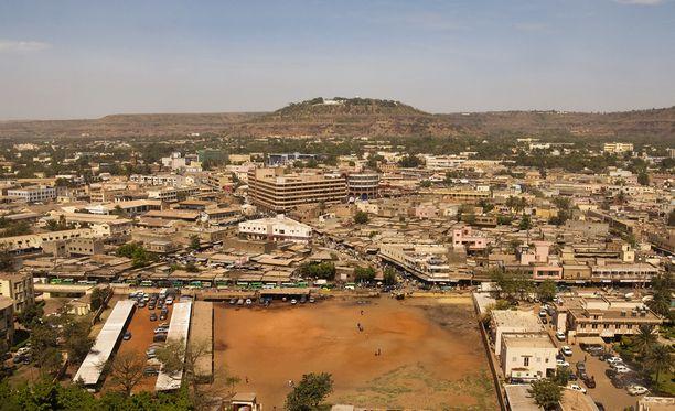 Terroristihyökkäykset eivät ole harvinaisia Malissa. Kuvituskuva maan pääkaupungista Bamakosta.