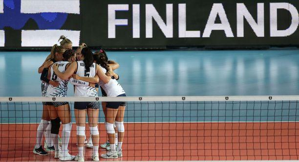 Suomen joukkueella ei ollut aseita Turkkia vastaan.