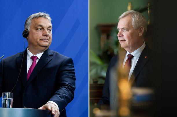 Unkarin pääministeri Viktor Orbán ja Suomen pääministeri Antti Rinne johtavat erityyppisiä valtioita.