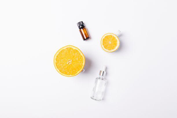 C-vitamiini on yksi kosmetiikan tärkeimmistä tehoaineista.