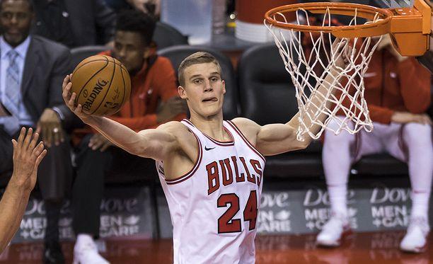 Lauri Markkasen NBA-debyytti Torontossa oli upea.
