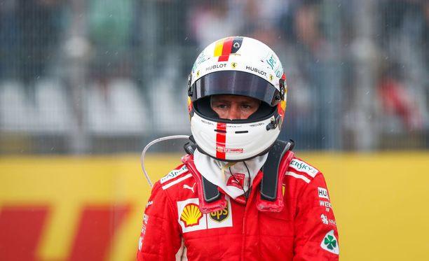 Sebastian Vettelin silmissä siinsi Saksassa maukas voitto.