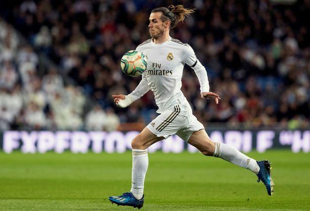 Gareth Bale helmikuussa La Liga -ottelussa Celta Vigoa vastaan.
