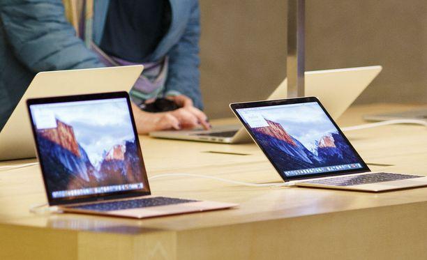 Apple esitteli Macbook Air -tietokoneensa kymmenen vuotta sitten. Kuvituskuva.