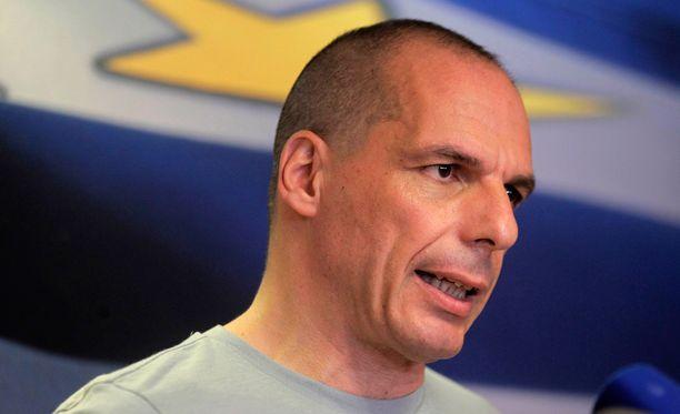Gianis Varoufakis ilmoitti eroavansa Kreikan valtiovarainministerin tehtävistä 5. heinäkuuta.