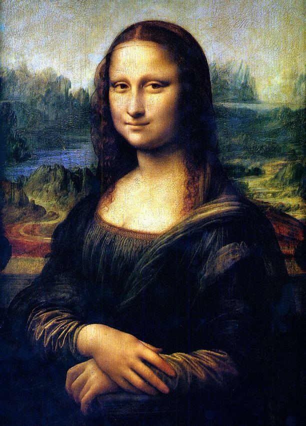 Mona Lisan uskotaan esittävän firenzeläisen kangaskauppiaan Francesco del Giocondo vaimoa Lisa Gherardinia.