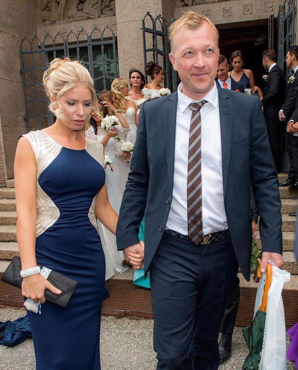 Magdalena Graaf ja Magnus Hedman muodostivat pitkään yhden Ruotsin seuratuimmista julkkispareista. Pari on nyttemmin eronnut.
