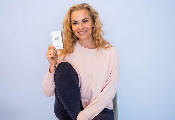 Susanna Tanni suosittelee Harmonia KSM66 -valmistetta kaikille stressistä kärsiville.