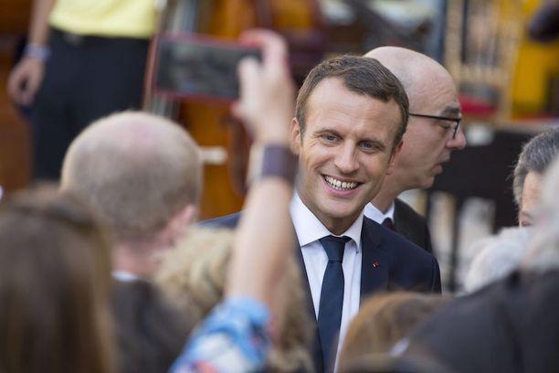 Emmanuel Macron valittiin Ranskan presidentiksi toukokuussa.