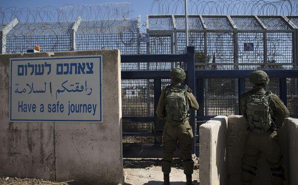 Israel on valmis avaamaan Quneitran raja-aseman uudelleen.