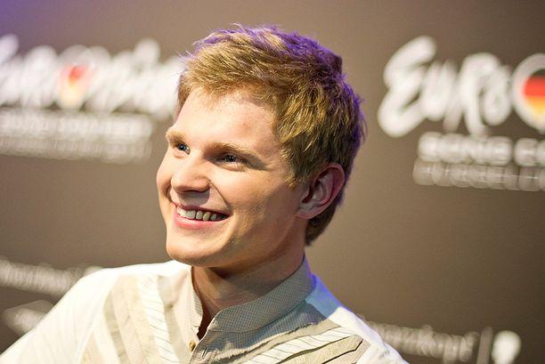 Axel Ehnström edusti Suomea euroviisuissa vuonna 2011.