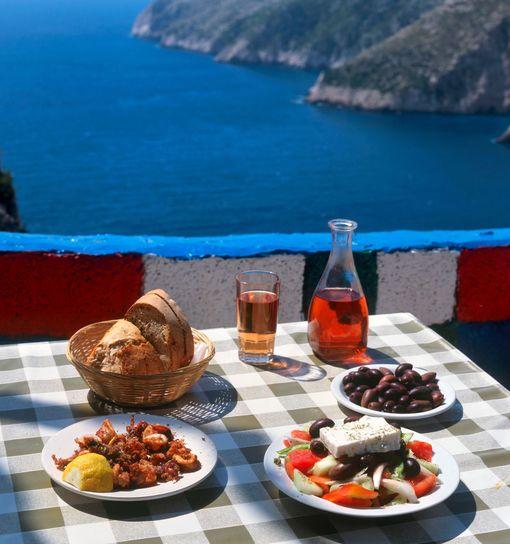 Kreikka on loistokohde ruokamatkalle!