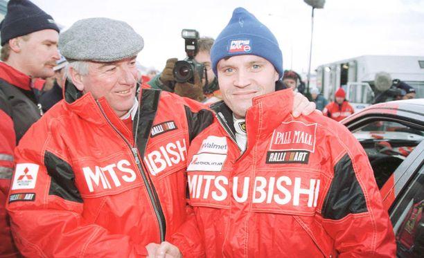 Andrew Cowanin ja Tommi Mäkisen yhteistyö oli menestyksekästä.