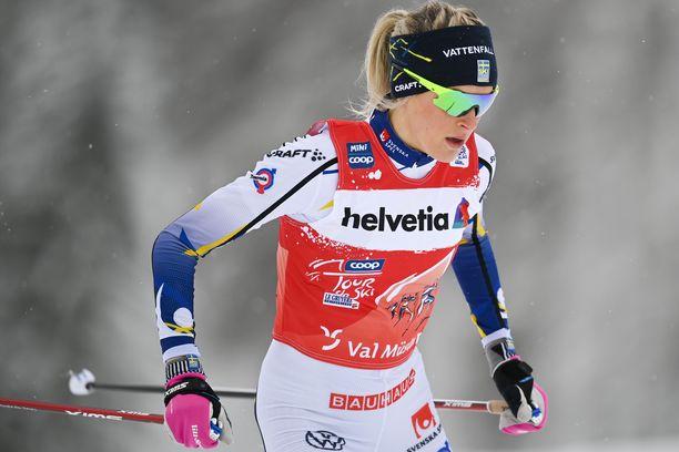 Frida Karlssonin Tour de Ski on ollut pahassa vastatuulessa.