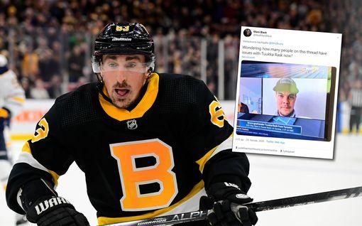 NHL:n supertähti ärähti Twitterissä lippalakkikohuun ajautuneen Tuukka Raskin puolesta – poisti viestin, kuvakaappaukset leviävät